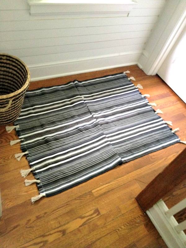 DIY Rug with Tassels 2