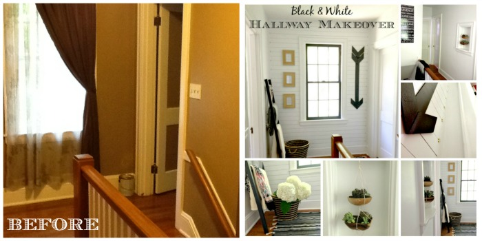 Hallway Before and After Hallway Makeover    Final Reveal!