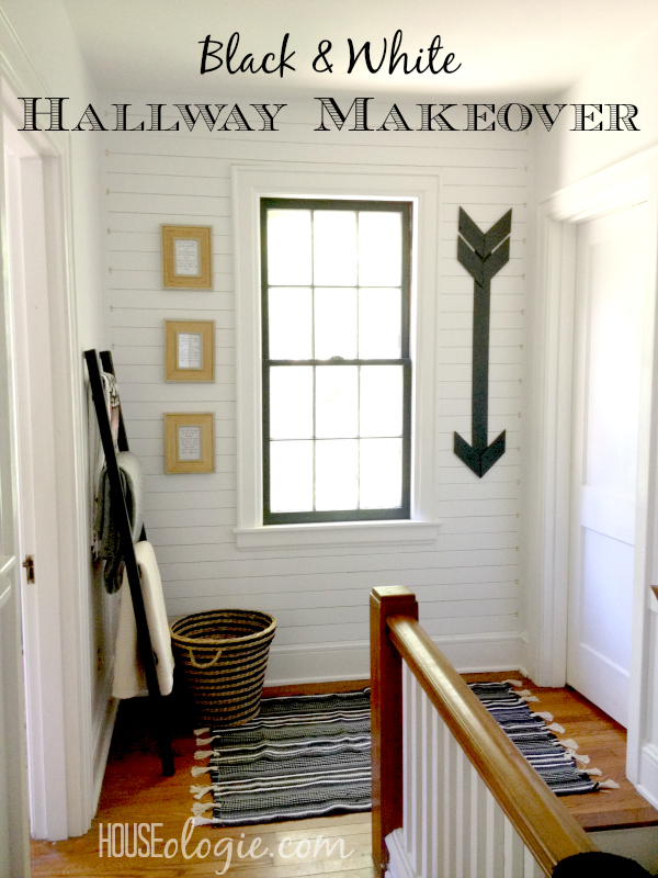 Hallway Makeover Reveal Pinterest Hallway Makeover    Final Reveal!