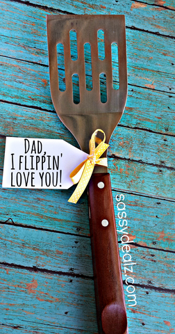 funny spatula fathers day gift idea 50 DIY Fathers Day Gifts