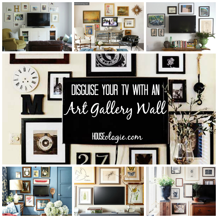 Tv Gallery Wall Inspiration Houseologie