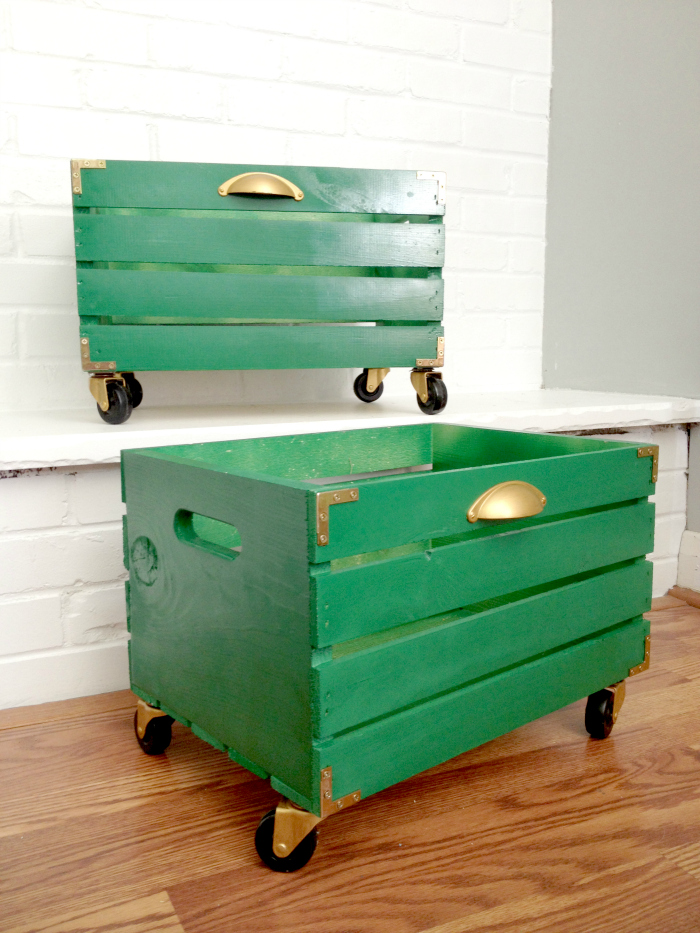 Campaign Style Storage Crate
