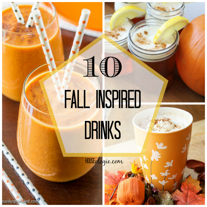 10 delicious fall inspired drinks