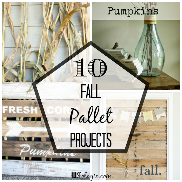 Fall Friday Finds - Fall Themed Pallet Decor | Houseologie