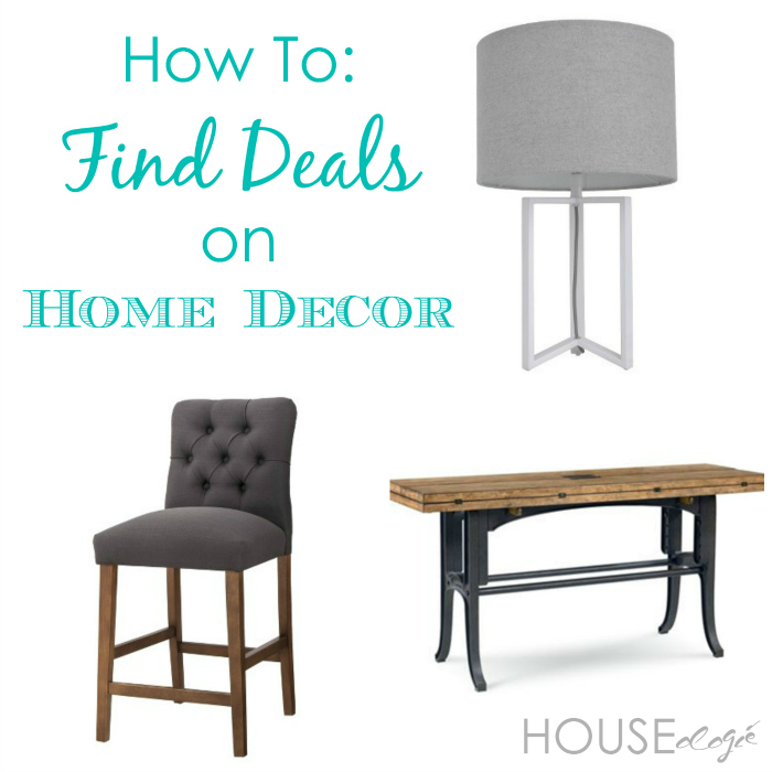 How To Find Deals on Home Decor2 How To Find Deals on Home Decor