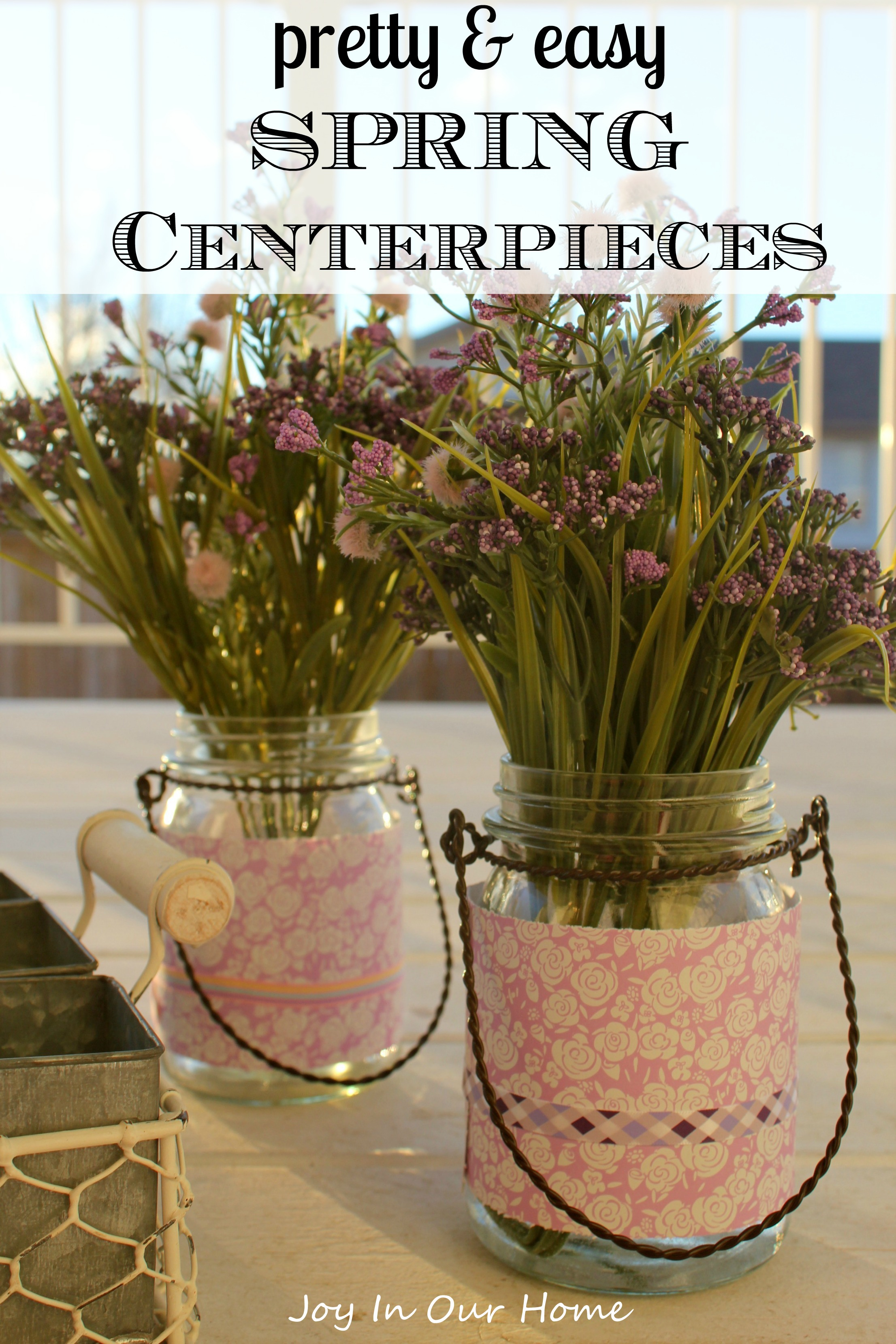 Easy Spring Nail Art With Kester Black: Easy & Pretty Spring Centerpieces