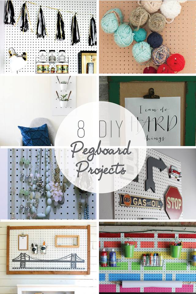 how to make a shelf for a pegboard