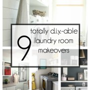 9 Totally Do-able DIY Laundry Room Makeovers