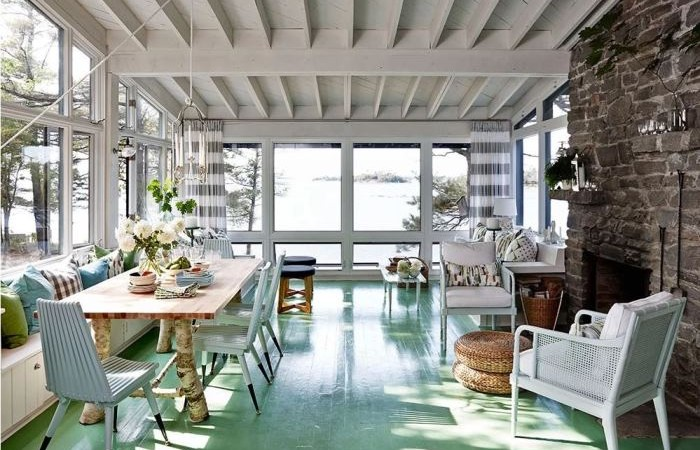 9 Exquisite Painted Floors