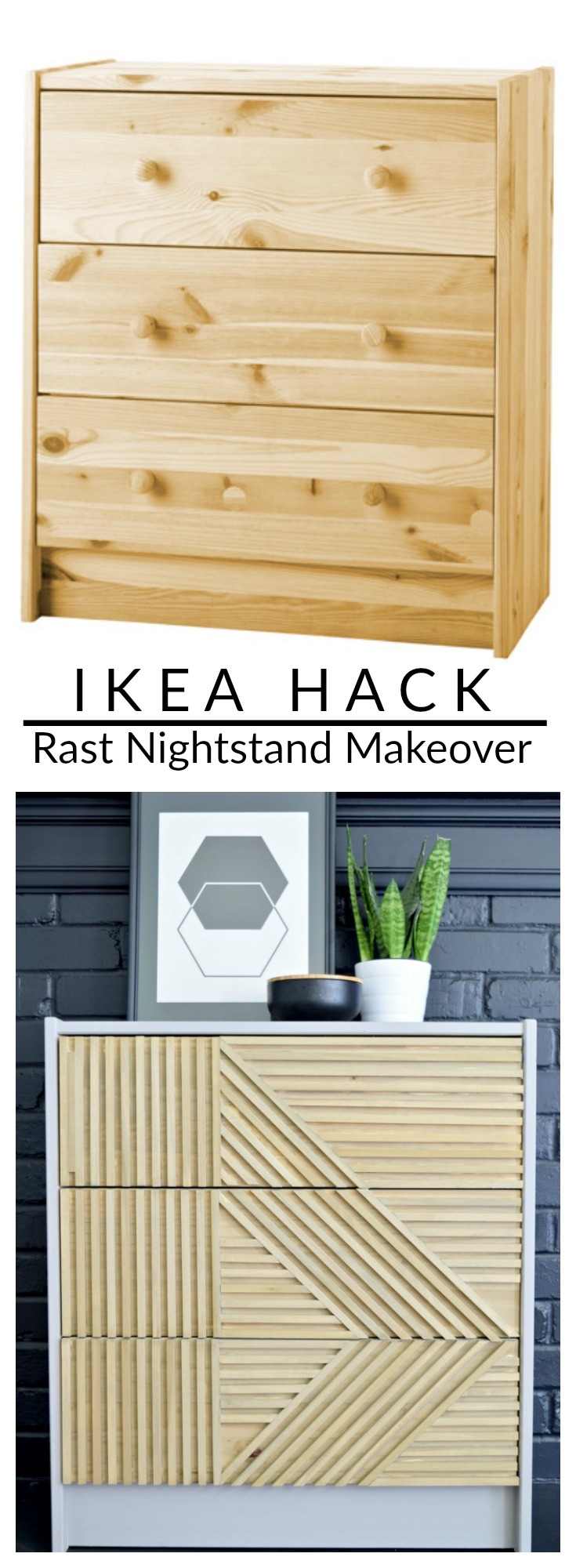How To Give An Ikea Rast A Diy Makeover Using Fat Paint